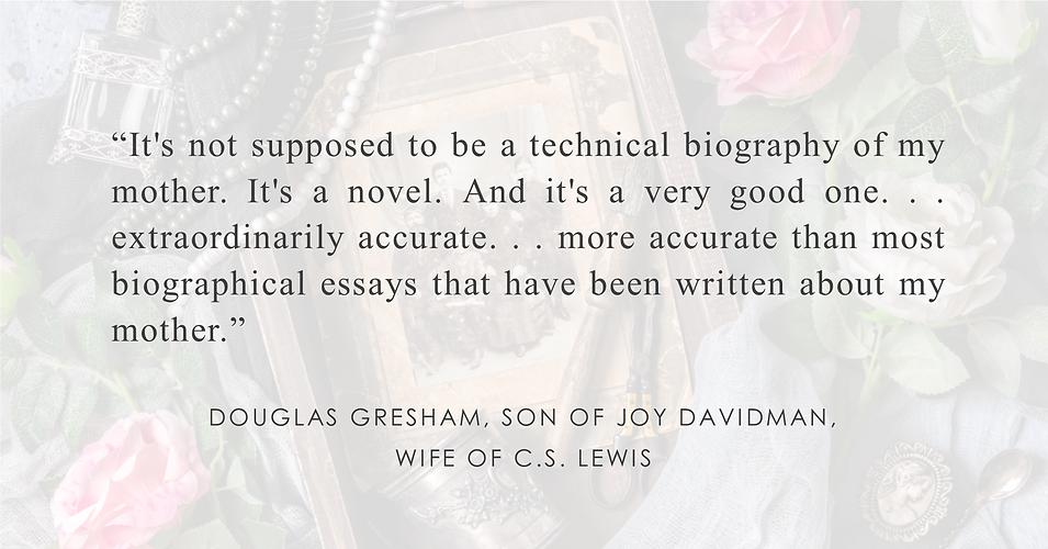 Douglas Gresham, son of Joy Davidman, wife of CS Lewis