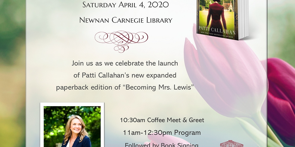 NEWNAN, GA |  Saturday April 4, 2020  10:30am-2pm