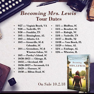 Becoming Mrs. Lewis Tour Dates
