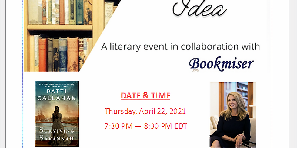 VIRTUAL EVENT  |  Thurs. April 22, 2021 @ 7:30-8:30PM