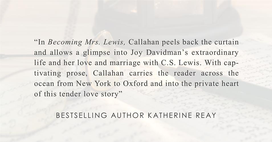 Bestselling Author Katherine Reay