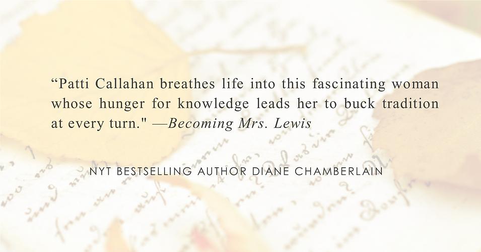 NYT Bestselling Author Diane Chamerlain