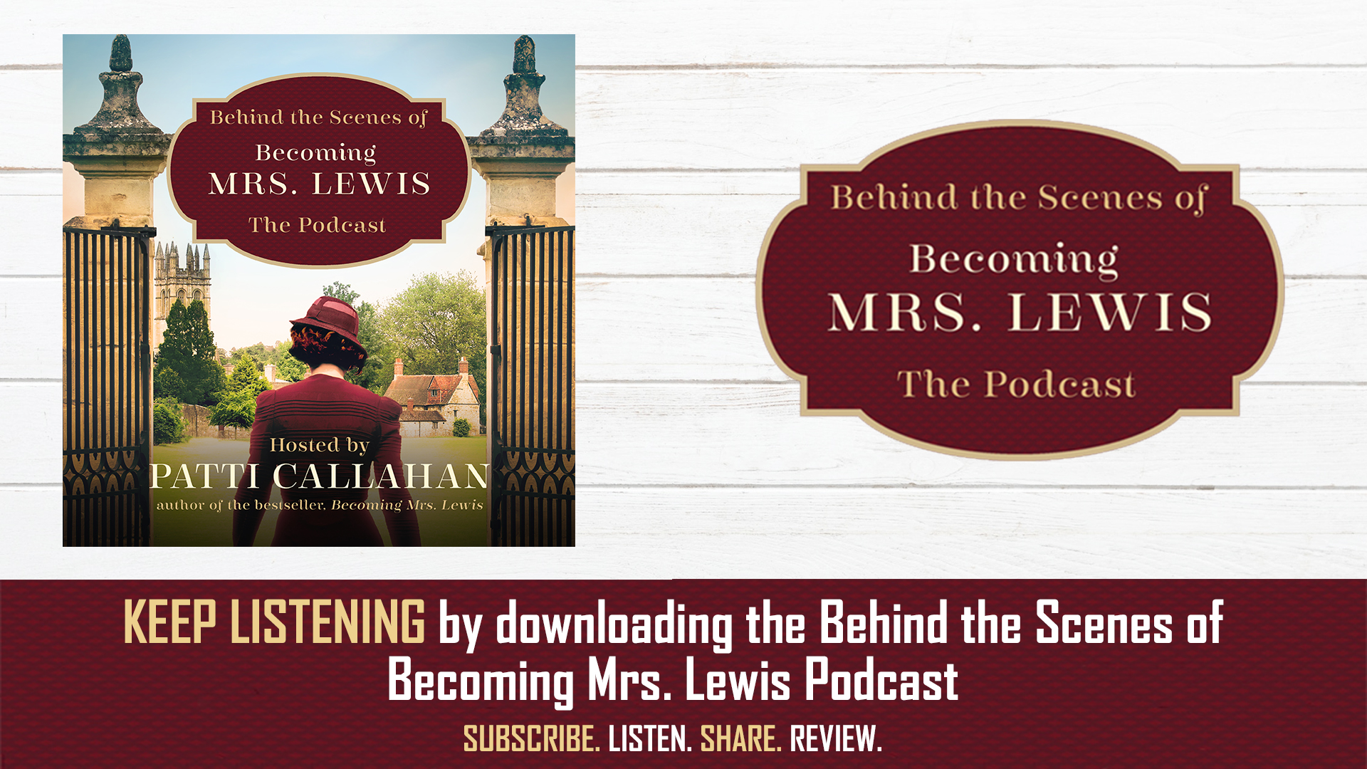 Becoming Mrs. Lewis Podcast Series