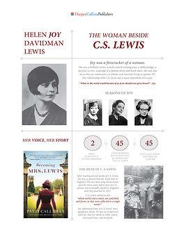 Helen Joy Davidman Lewis l Becoming Mrs. Lewis