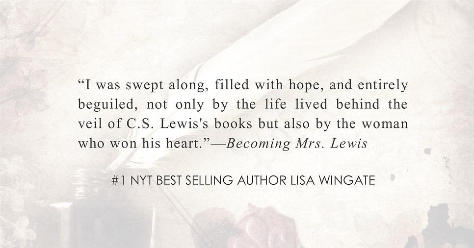 #1 NYT Bestselling Author Lisa Wingate