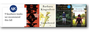 AJC 9 Southern Books We Recommend This Fall