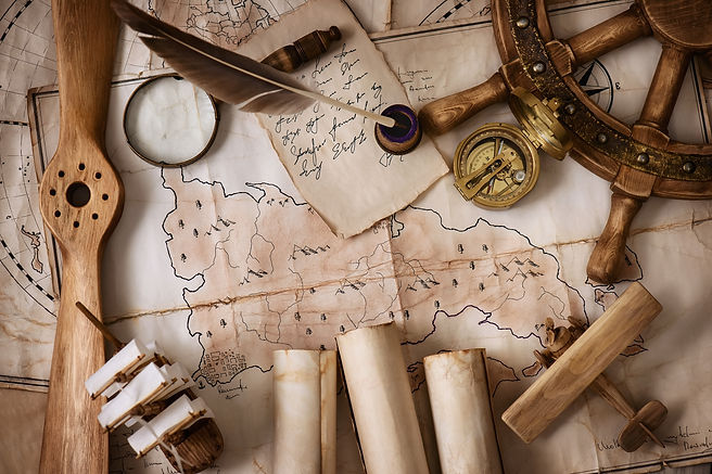 vintage map, compass, ship .jpg