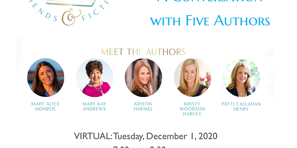 Virtual Event | Dec 1, 2020 @ 7:00pm - 8:30pm