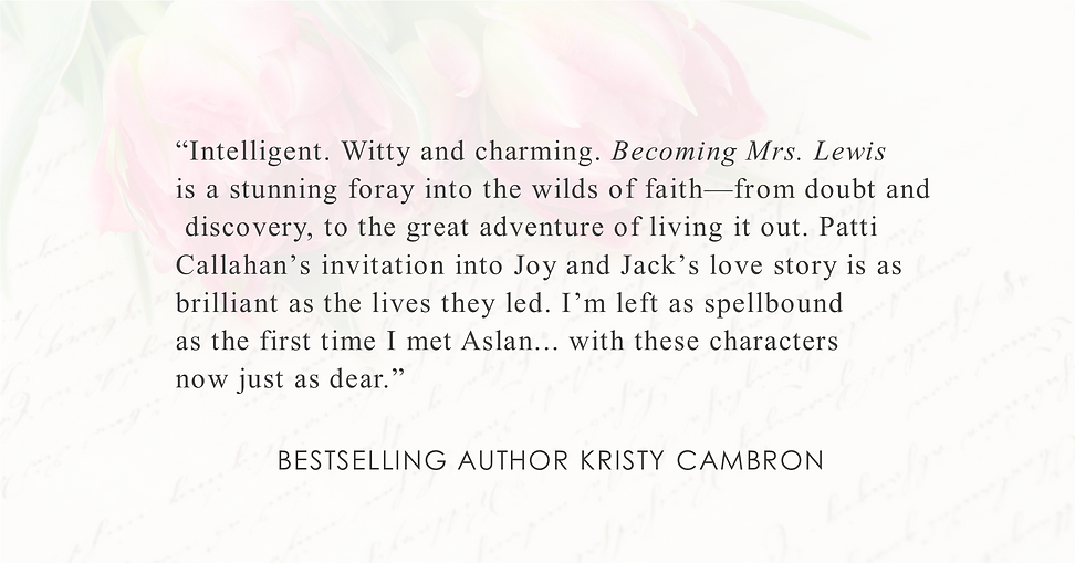 Bestselling Author Kristy Cambron