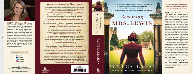 Becoming Mrs. Lewis Book Jacket