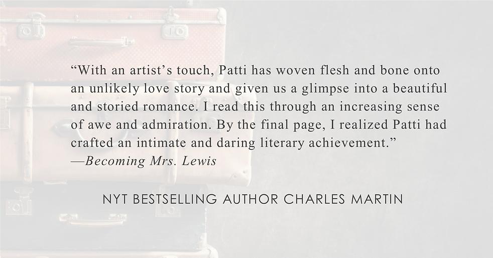 NYT Bestselling Author Charles Martin