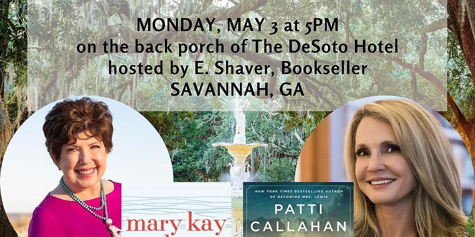 SAVANNAH, GA | Mon, May 3, 2021 @  5:00 PM – 7:00 PM EDT