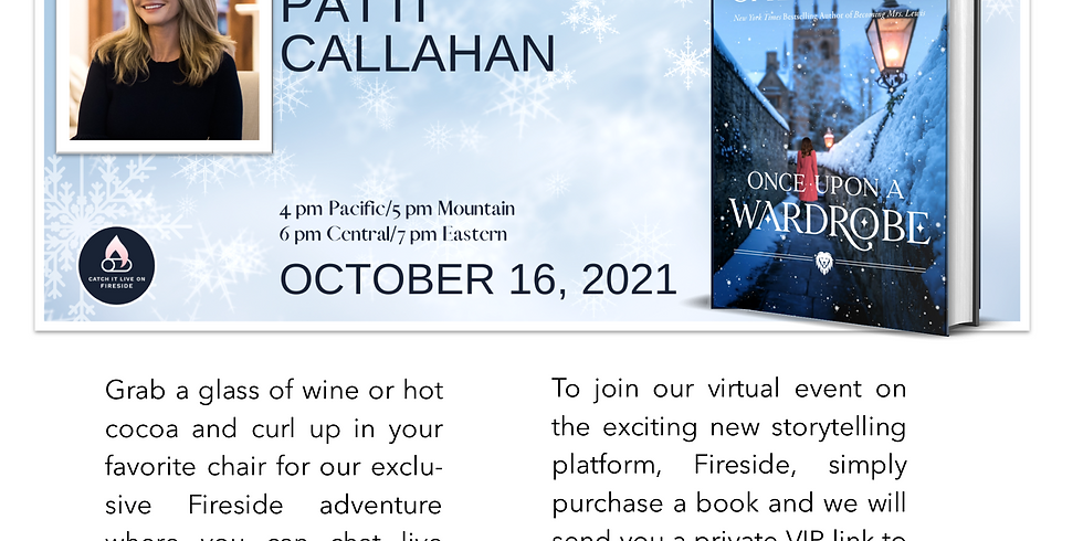VIRTUAL EVENT | Saturday, October 16, 2021 @ 4:00 pm - 5:00 pm PDT