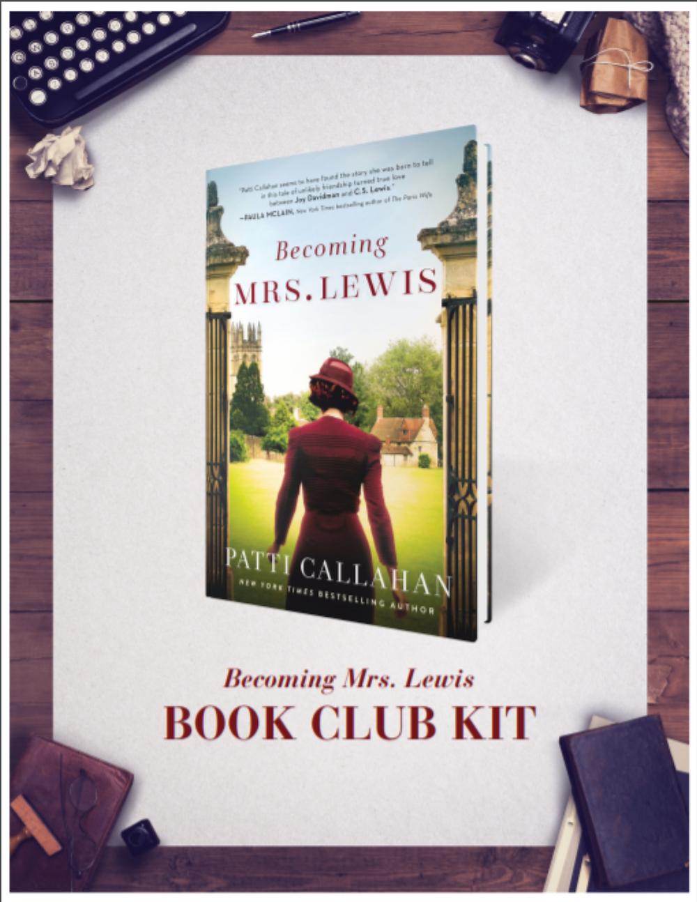 Becoming Mrs Lewis Book Club Kit