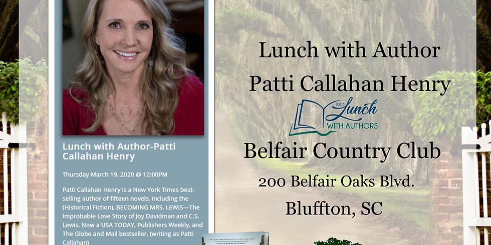 BLUFFTON, SC  | March 19, 2020 - Luncheon 12:00 pm Belfair Country Club