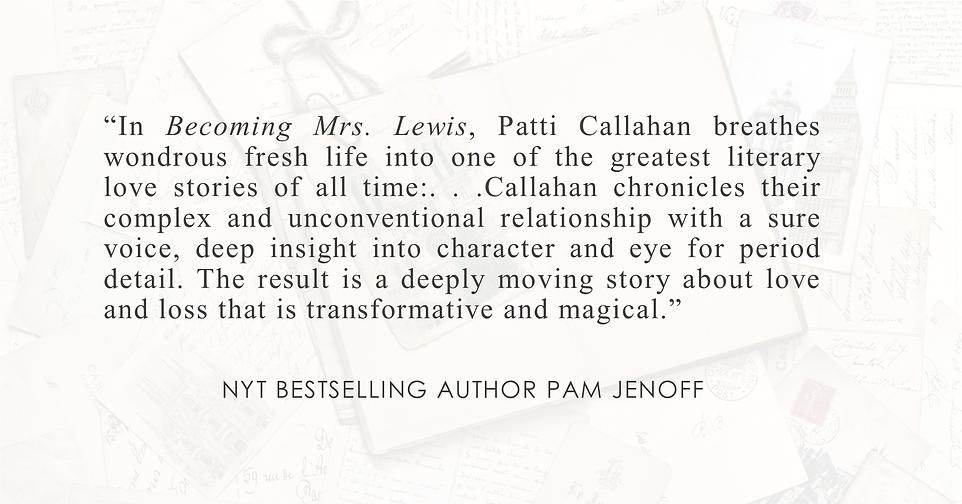 NYT Author Pam Jenoff