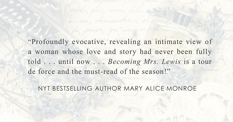 NYT Bestselling Author Mary Alice Monroe