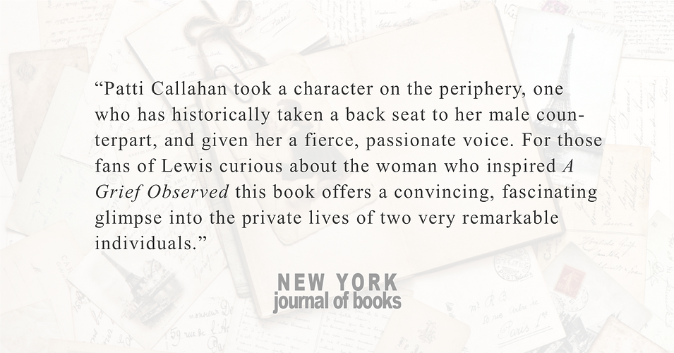 New York Journal of Books | Becoming Mrs. Lewis o