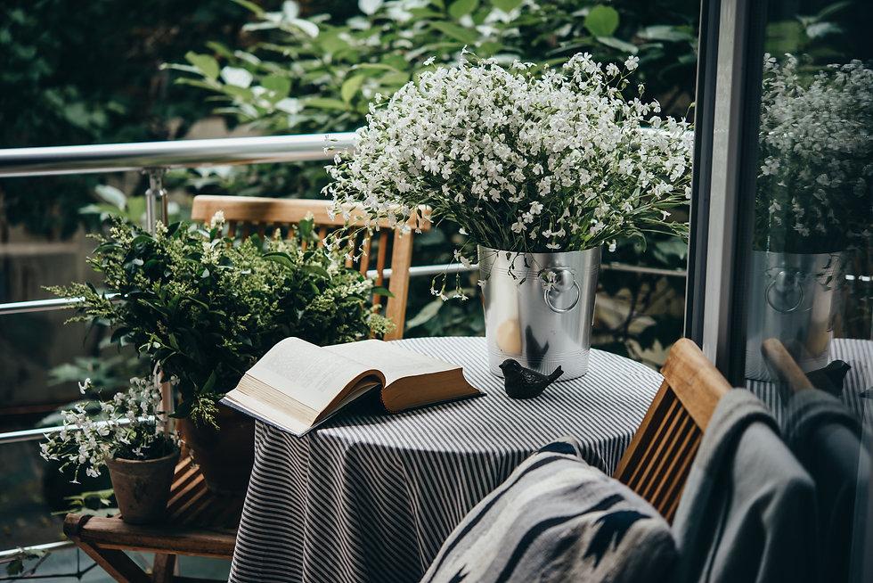 balcony books water .jpg