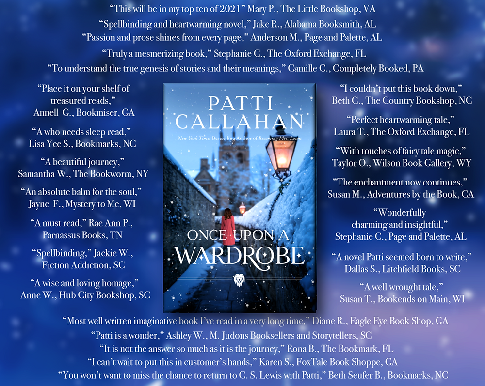 Once Upon a Wardrobe by Author Patti Callahan