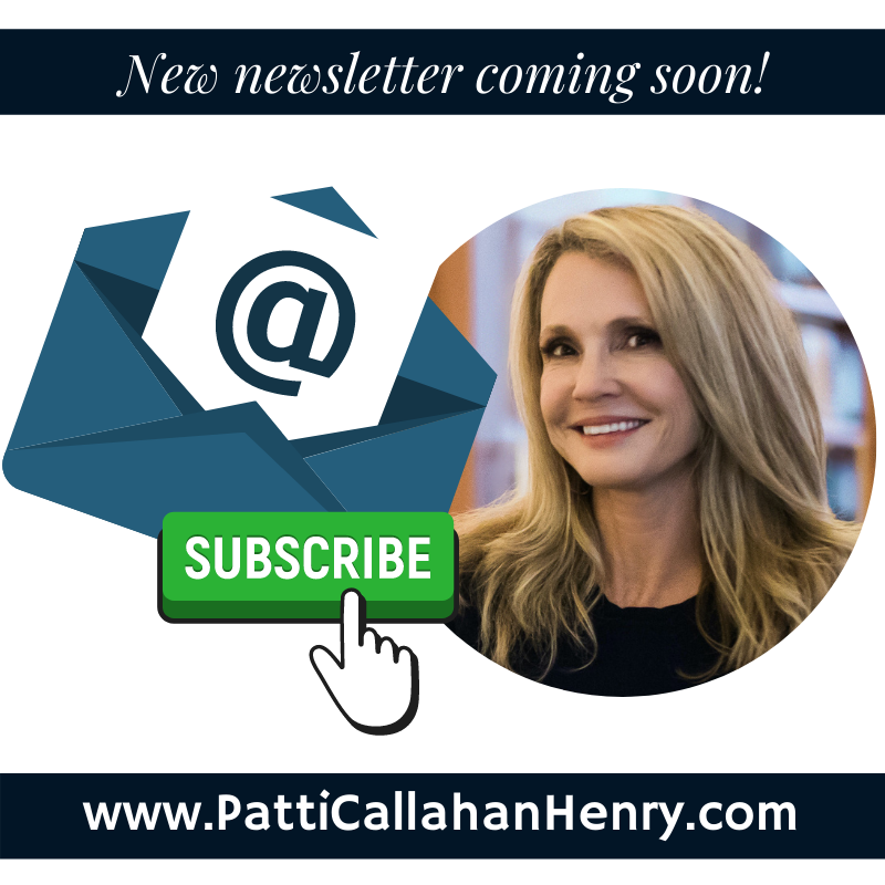 Subscribe Patti's Newsletter