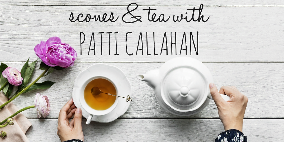 Booktowne Tea and Scones with Patti Callahan and Mary Farnham