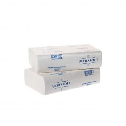 Ultrasoft Interleaved Towel 24 x 23cm Carton of 16
