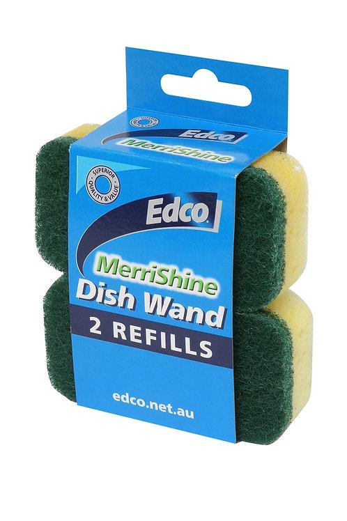 Edco Merrishine Dish Wand refills 2 pk
