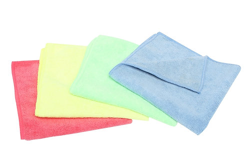 Tuf microfibre Cloth Green Pk 10