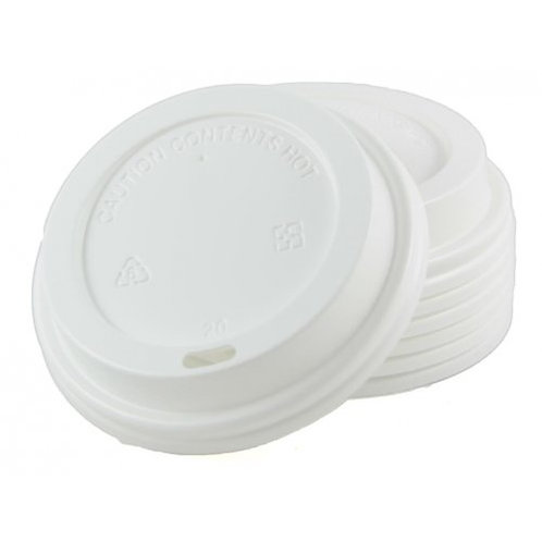 Coffee Cup 8 oz Lid White sleeve 50