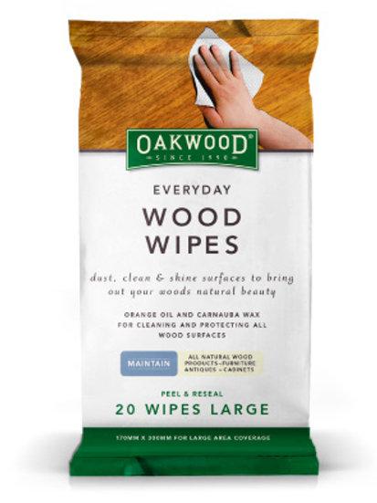 Oakwood Wood care polishing wipes