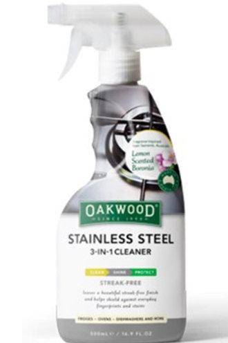 Oakwood 3-in-1 Stainless Steel Cleaner