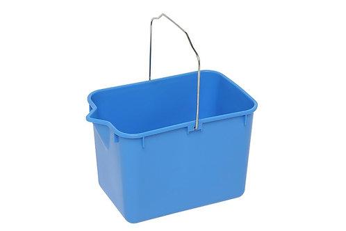 Edco squeeze mop bucket blue
