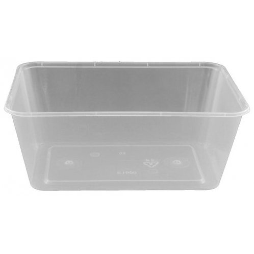 Takeaway Food Container Clear 1000ml/Pack 50