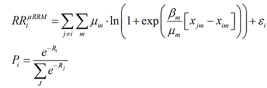 muRRM Equations