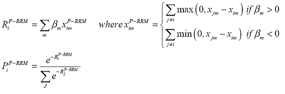 P-RRM equations