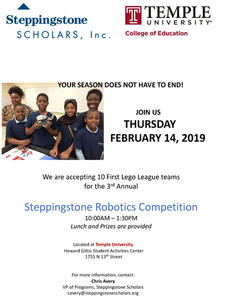 Annual Steppingstone Robotics Competition