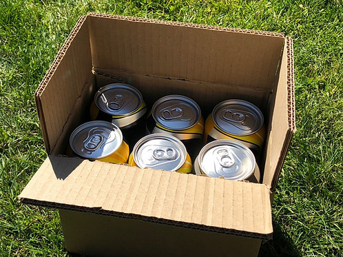 6 x 440ML CAN SHIPPING BOX ECO PLUS -DOUBLE WALL - ECO PLUS