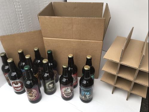 12 x 500ml Bottle Case -Heavy Duty