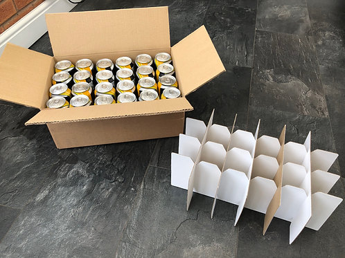 24x 440ML CAN SHIPPING BOX ECO PLUS -DOUBLE WALL