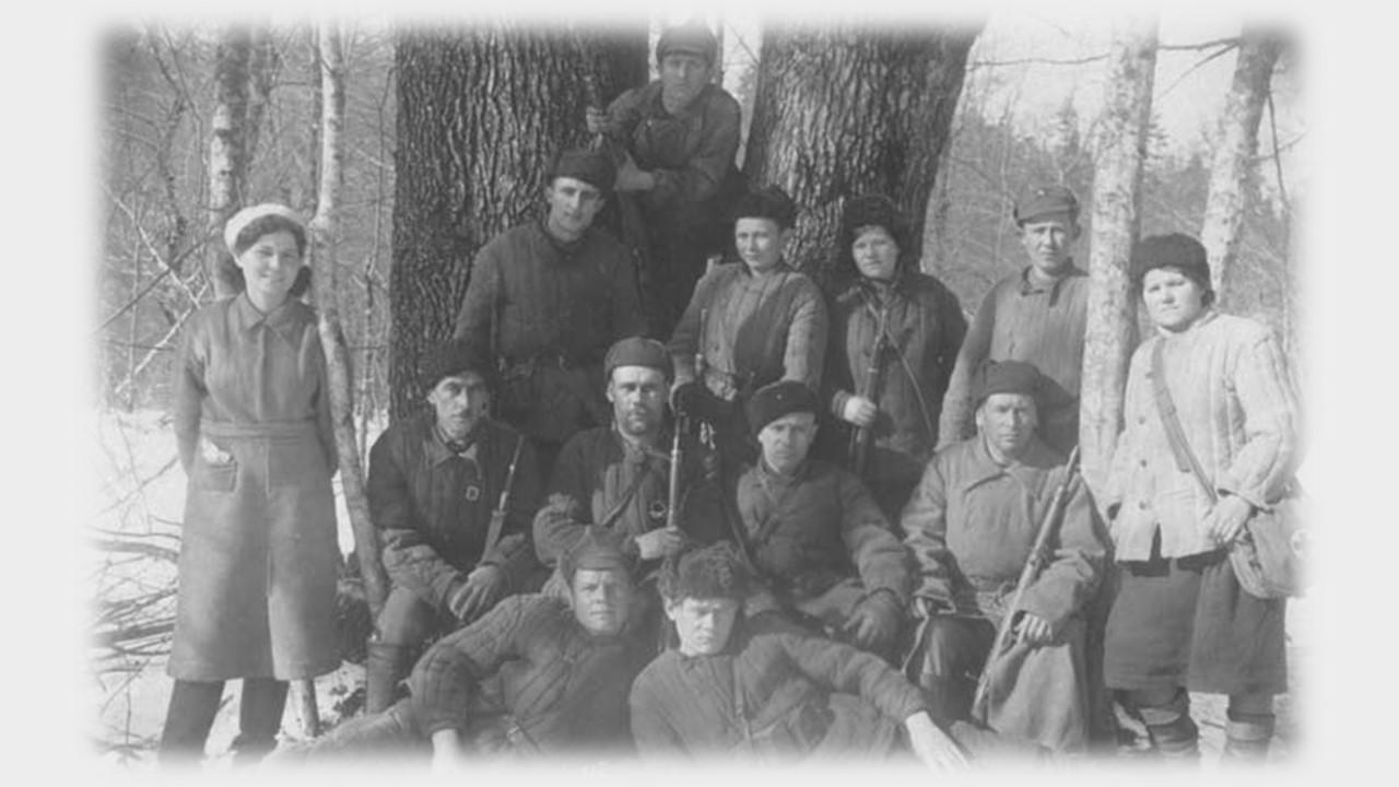 партизанский отряд Тихий