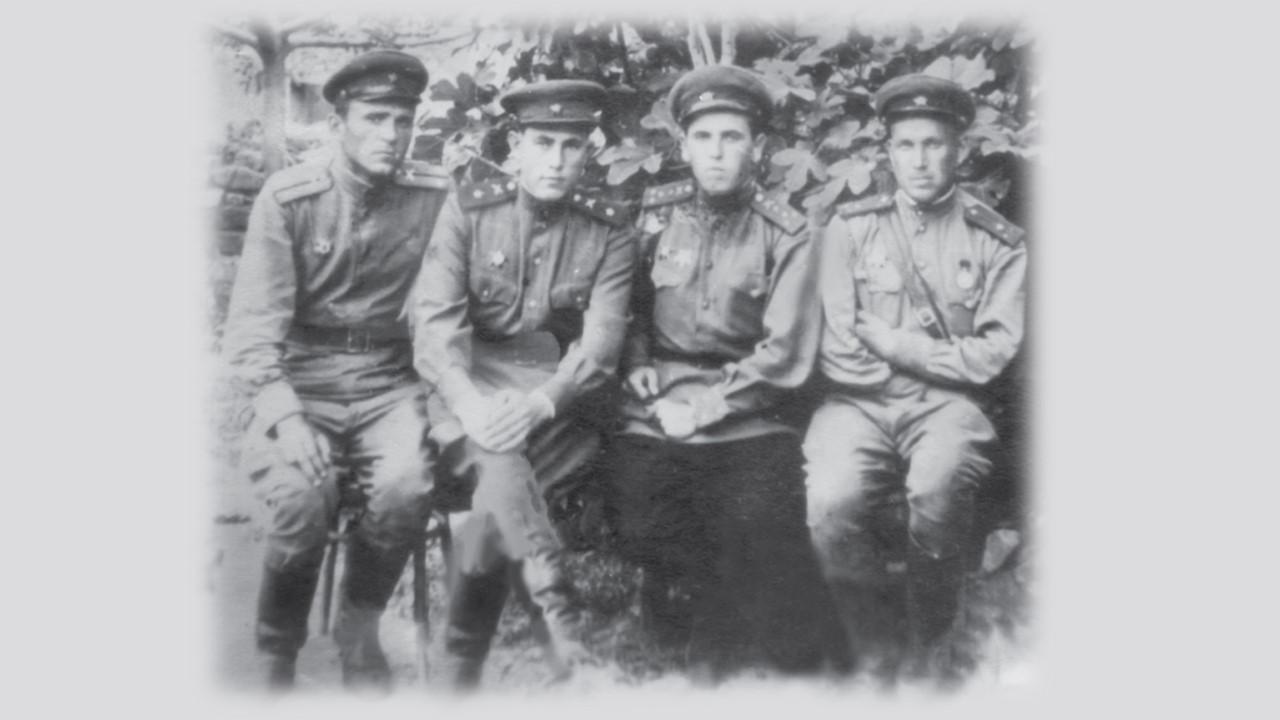 участники боев под Абинской П.А