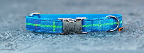 Plaid Blue 25mm