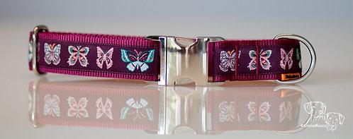 Butterflies Burgundy