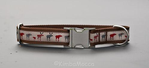 Elk on brown-30mm-