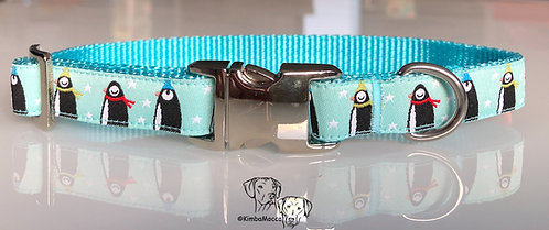Little penguins 15mm turquoise