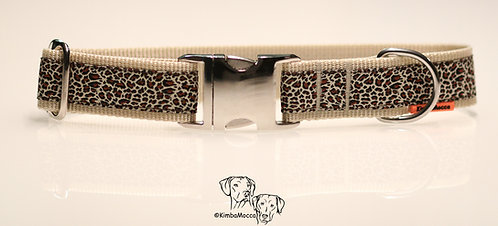 Leopard small print on beige