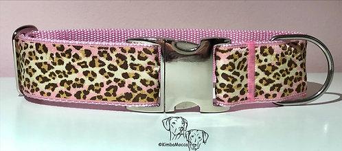Soft Pink Leopard - 40mm