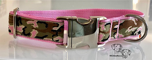 Camouflage on soft pink-30mm-