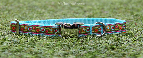 Small Flowers turquoise